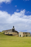El Morro Fort in Old San Juan Photographic Print by Massimo Borchi