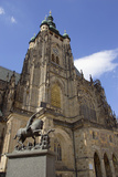 St Vitus's Cathedral Photographic Print by Paul Seheult