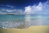 Beach in Fiji Photographic Print by Peter Adams