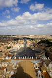 Piazza San Pietro Photographic Print by Stefano Amantini