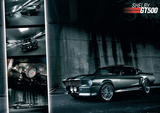 Ford Shelby Mustang GT500 Poster