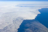 Aerial View of Clouds above Pacific Ocean near Chile Photographic Print by Momatiuk - Eastcott