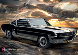 Ford Shelby Mustang 66 GT350 Poster