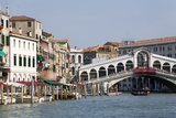 Rialto Bridge and Grand Canal Photographic Print by Paul Seheult