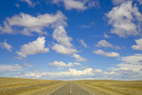 Paved Highway across Pampas Photographic Print by Momatiuk - Eastcott