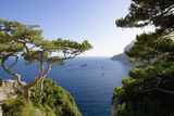 View from Belvedere Di Tragara on Capri Photographic Print by Massimo Borchi