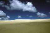 Sand Dunes and Sky Photographic Print by Chris Sattlberger