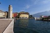 Riva Del Garda Waterfront Photographic Print by Sergio Pitamitz