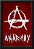 Anarchy Symbol Resistance Poster Photo