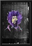 Jimi Hendrix Graffiti NYC Prints