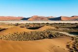 Aerial View, Namib Desert, Namibia. Photographic Print by Sergio Pitamitz