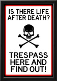 No Trespassing Do Not Enter Sign Poster Posters