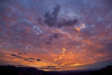 Colored Clouds above Colorado River at Sunset Photographic Print by Momatiuk - Eastcott