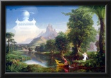 Thomas Cole The Voyage of Life Youth Art Print Poster Poster