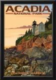 Acadia National Park, Maine - Bass Harbor Lighthouse Prints
