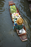 Damnoen Suduak Floating Market Photographic Print by Richard Taylor