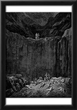"Gustave Doré (Illustration to Dante's ""Divine Comedy,"" Inferno - Cliff) Art Poster Print Prints"