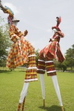 Moko Jumbies in St. Croix Photographic Print by Macduff Everton