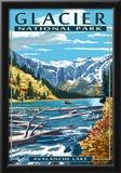Avalanche Lake - Glacier National Park, Montana Posters