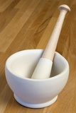 Mortar and Pestle Photographic Print by Paul Seheult