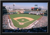 Angel Stadium Anaheim Color Archival Photo Sports Poster Prints