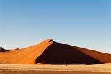 Sossusvlei, Namib Desert, Namibia. Photographic Print by Sergio Pitamitz