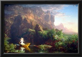 Thomas Cole The Voyage of Life  Childhood Art Print Poster Photo