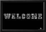 Welcome Languages Text Poster Poster