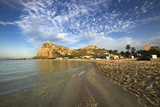 View of Beach and Coastline, San Vito Lo Capo, Sicily, Italy Photographic Print by Massimo Borchi