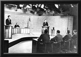 John F Kennedy (Debating Richard Nixon) Art Poster Print Posters