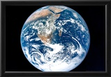 Earth from Space Archival Photo Poster Print Posters