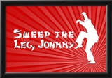 Karate Kid Movie Sweep the Leg Johnny Poster Print Prints