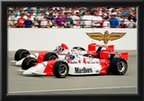 Emerson Fittipaldi and Paul Tracy Indianapolis 500 Archival Photo Poster Prints