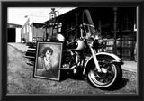 Elvis Harley Davidson Archival Photo Poster Prints