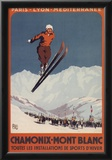 Chamonix Mont-Blanc, France - Ski Jump Prints
