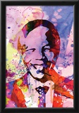 Nelson Mandela Watercolor Posters