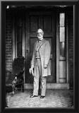 General Robert E Lee (Portrait, House) Art Poster Print Photo