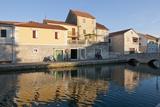 Houses, Vrboska, Hvar Island, Croatia Photographic Print by Guido Cozzi