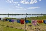 Pousada at Tia Mariana Lagoon, Mato Grosso, Brazil Photographic Print by Guido Cozzi