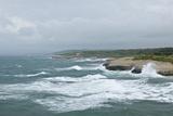 Storm along Porto Torres Coastline, Porto Torres, Sardinia, Italy Photographic Print by Guido Cozzi