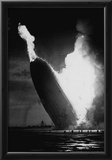 Hindenburg Crash 1937 Archival Photo Poster Photo