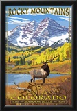 Maroon Bells - Rocky Mountain National Park Posters