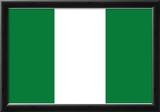 Nigeria National Flag Poster Print Posters