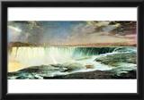 Frederick Edwin Church Niagara Falls Art Print Poster Posters