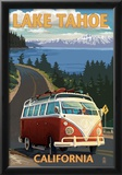 Lake Tahoe, California - VW Coastal Drive Posters