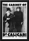The Cabinet of Dr Caligari Movie Werner Krauss Poster Print Prints