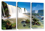 Iguassu Falls 3, 3 Piece Gallery-Wrapped Canvas Set Print by Cody York