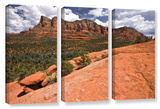 Sedona, 3 Piece Gallery-Wrapped Canvas Set Posters by Cody York