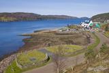 View of Town Based on Lake Shore, Shieldaig, Scotland, United Kingdom Photographic Print by Stefano Amantini