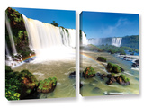 Iguassu Falls 3, 2 Piece Gallery-Wrapped Canvas Set Prints by Cody York